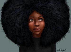 afro_by_davidraphet-d5fiq0o